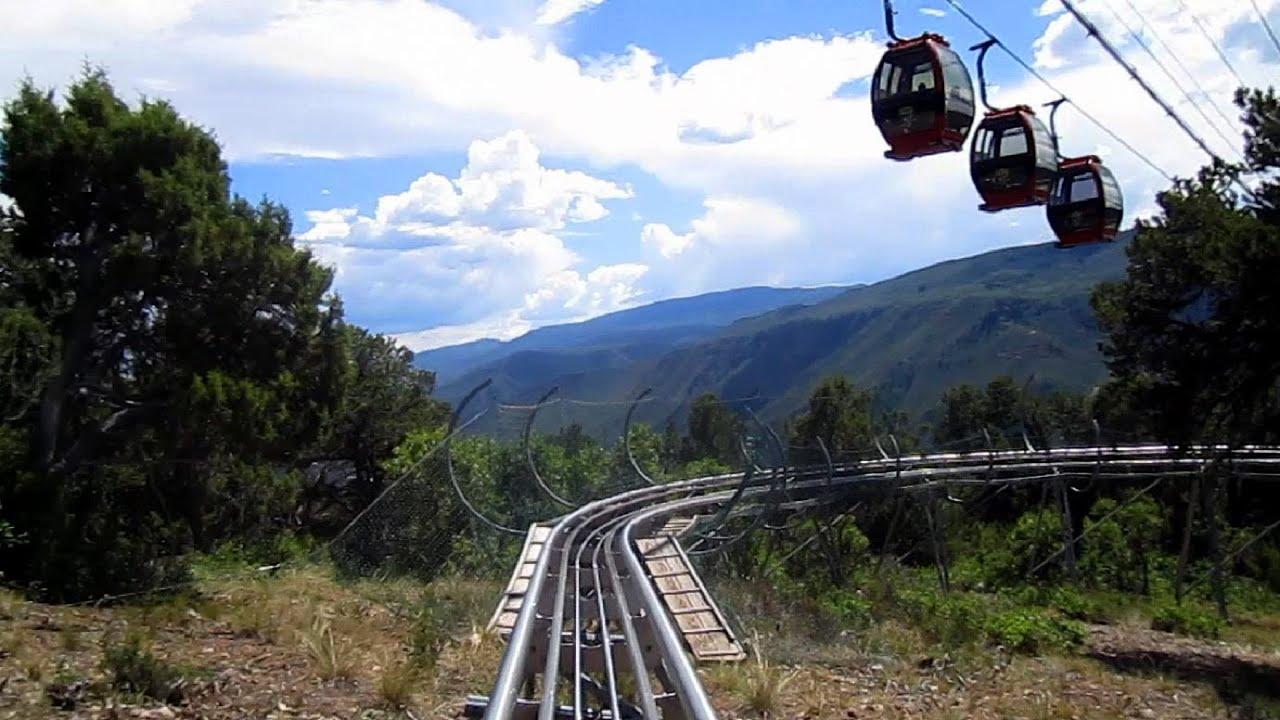 Alpine Coaster On Ride Hd Pov Glenwood Caverns Adventure