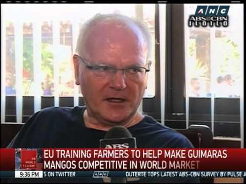What EU envoy told Guimaras mango farmers
