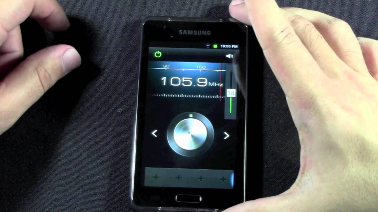 Samsung Galaxy Player 4.2 - FM Radio - YouTube