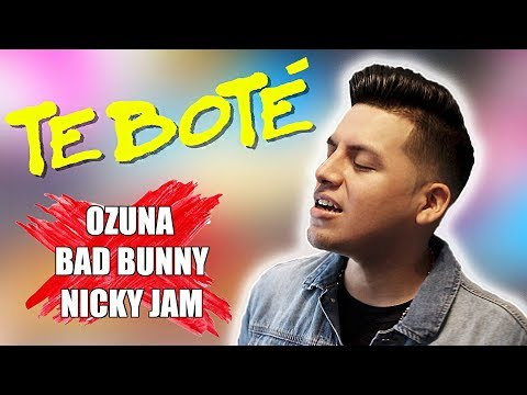 Te Bote Remix - Bad Bunny, Ozuna, Nicky Jam (Letra Lyrics English Ingles)