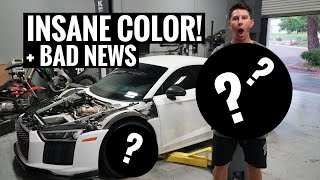 AUDI R8 EPIC WHEEL REVEAL + MORE BAD NEWS...