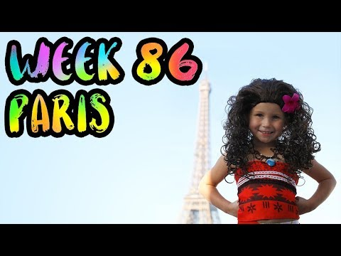 The PERFECT Way to See Paris WITH KIDS!! /// Week 86 : Paris, France