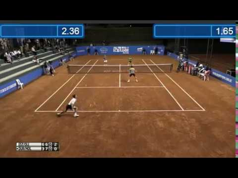 How to tank and sold tennis match By Molteni Duran vs Olivo Estrella in ATP Quito