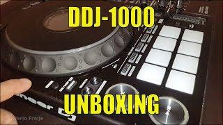 Pioneer DDJ 1000: Unboxing y Primeras Impresiones (vs. SX)