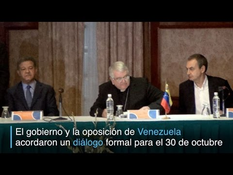 Venezuela instalará mesa formal de diálogo