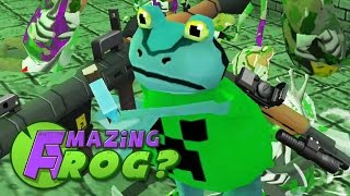 Amazing Frog - NEW ZOMBIES - PC Gameplay Part 22