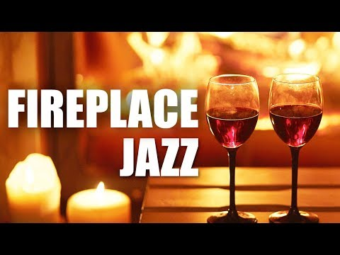 Fireplace Jazz  Smooth Jazz Saxophone Instrumental Music for Relaxing, Dinner, Studying  Soft Jazz