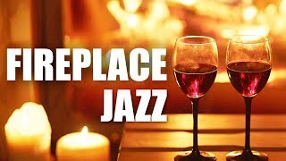 Fireplace Jazz • Smooth Jazz Saxophone Instrumental Music for Relaxing, Dinner, Studying • Soft Jazz