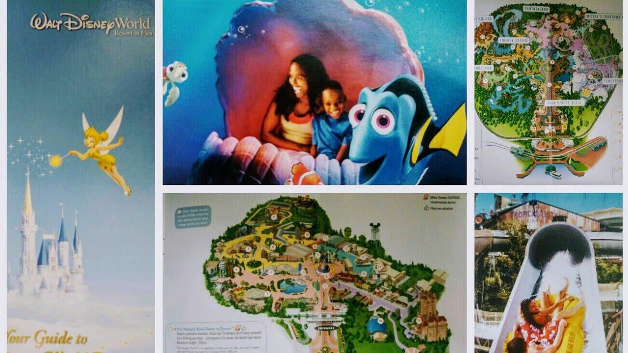 Theme Park Map Monday Walt Disney World 2010 Episode 5 Theme Park Maps From  Across The Years U0026 World
