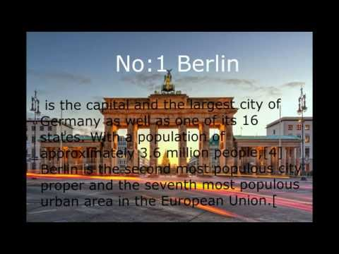 Top 10 Populated Cities In Germany
