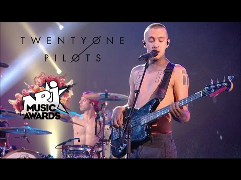 twenty one pilots - Ride (Live at NRJ Music Awards) 1080p HD
