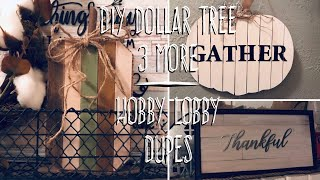 DIY Dollar Tree 3 More Hobby Lobby Dupes Neutral Colors