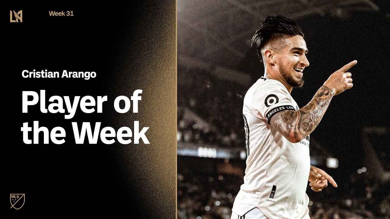 Chicho Arango named to MLS Team of the Week