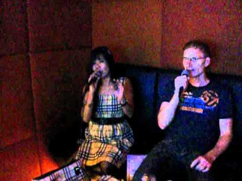 ALWAYS...Karaoke time w/ my friend ROBERT,,