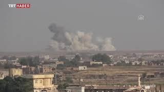Türk F-16'ları ve obüsleri Suriye'deki terör hedef