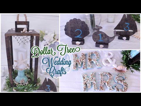 Dollar Tree DIY Wedding Crafts