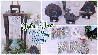 Dollar Tree DIY Wedding Crafts