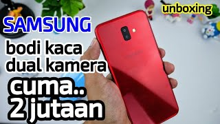 Unboxing Hape Samsung Dua jutaan kamera ganda - Galaxy J6 Plus
