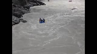 Accident in river😥 must watch  ..indus river ladhak