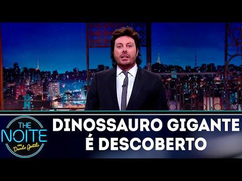 Monólogo: Dinossauro gigante é descoberto na Argentina | The Noite (17/07/18)