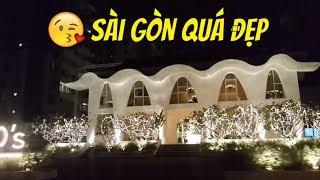 SÀI GÒN ĐÓN NĂM MỚI 2018 ĐẸP LỘNG LẪY  | Guide Saigon Food