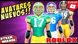 New Event Roblox NFL 2019 Bundles, Emotes and More Avatars Anthro (Rthro) Free