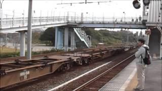 鹿島臨海鉄道鹿島臨港線 2010/11/13