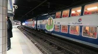 Paris RER Extravaganza: All 5 Lines! 8 November 2016