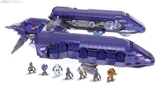 Mega Bloks Halo Covenant Spirit Dropship review!