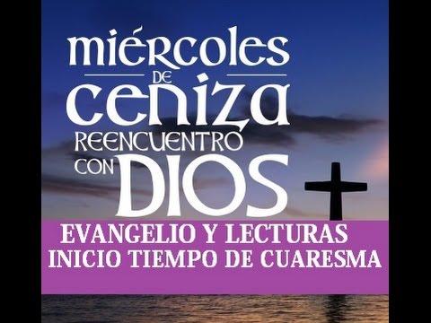 Resultado de imagen para EVANGELIO DE HOY MIERCOLES DE CENIZA