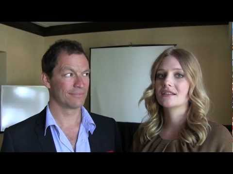 The Hour's Romola Garai and Dominic West: vice, girls and political incorrectdness