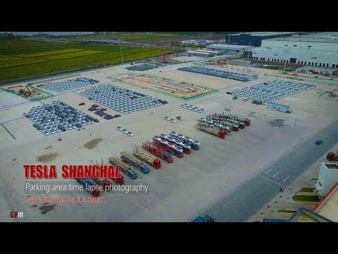 Download #295  #Teslashanghai\Parking area time lapse\4K