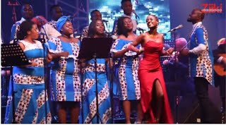 Vanessa Mdee Performing Kisela and Imara in Libreville, Gabon