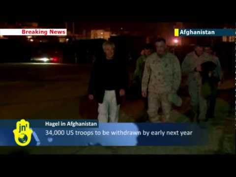 Chuck Hagel in first Afghanistan visit: new US Defense Secretary makes arrives in Kabul