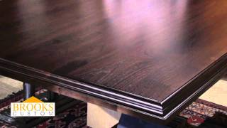 Marine Oil Finish For Walnut Countertops - Brooks Custom