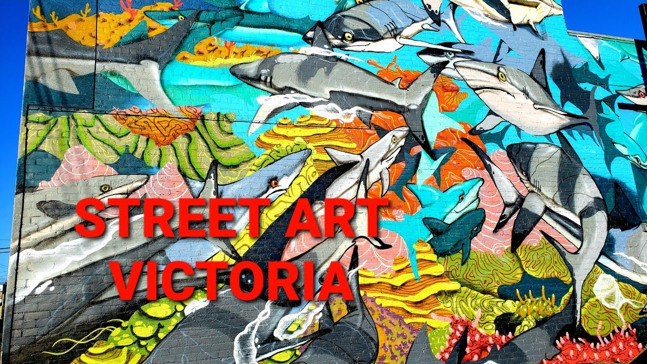 Street Art and Mural Tour Victoria, BC