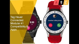 Tag Heuer Connected Modular 41 Compatibility & Apps