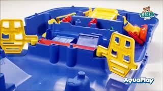 Vízi pálya gyerekeknek AquaPlay LockBox bőröndben