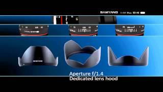 Samyang 24 мм 1:1.4 Ed як ОМК - офіційний промо-ролик