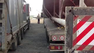 Перевозка промышленного оборудования с АБЗ(, 2017-07-20T01:38:47.000Z)