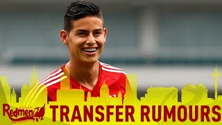 James Rodriguez Rumours | #LFC Transfer News LIVE