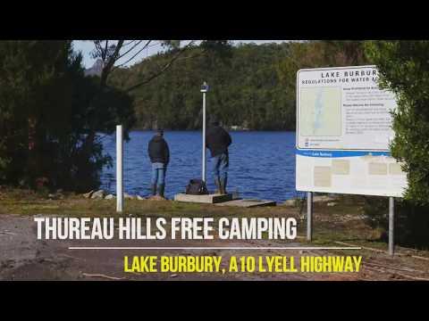 Thureau Hills Free Camping Area Lake Burbury Queenstown Tasmania