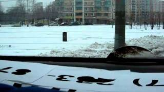 Параллельная парковка ориентир бордюр