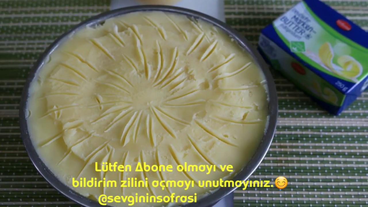 Yoğurt Kaymağından Tereyağı Yapımı Videosu