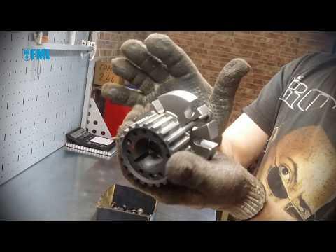 Как снять переднюю шестерню ГРМ с коленвала