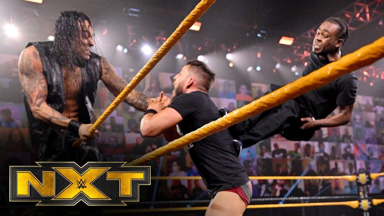 Mayhem erupts between Johnny Gargano, Damian Priest and Leon Ruff: WWE NXT, Nov. 18, 2020