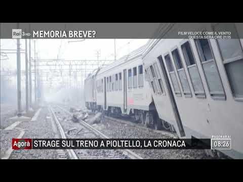 La strage sul treno, la cronaca - Agorà 26/01/2018