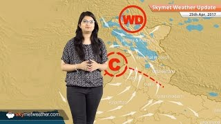 Weather Forecast for April 25: Rain in Karnataka, West Bengal; hot weather in Delhi