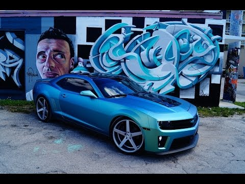 Chameleon Wrap Camaro W O W Whip Of The Week On Klutch