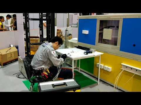 Information network cabling WorldSkills Abu Dhabi